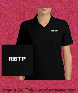 RBTP WOMENS EMBROIDERED POLO Design Zoom