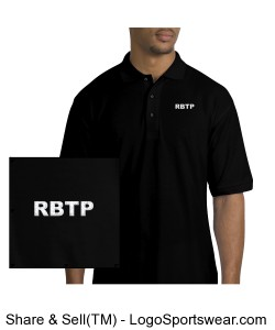 RBTP MENS EMBROIDERED POLO Design Zoom