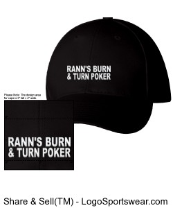 RBTP-HAT BLACK/WHITE Design Zoom