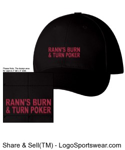 RBTP-HAT BLACK/RED Design Zoom